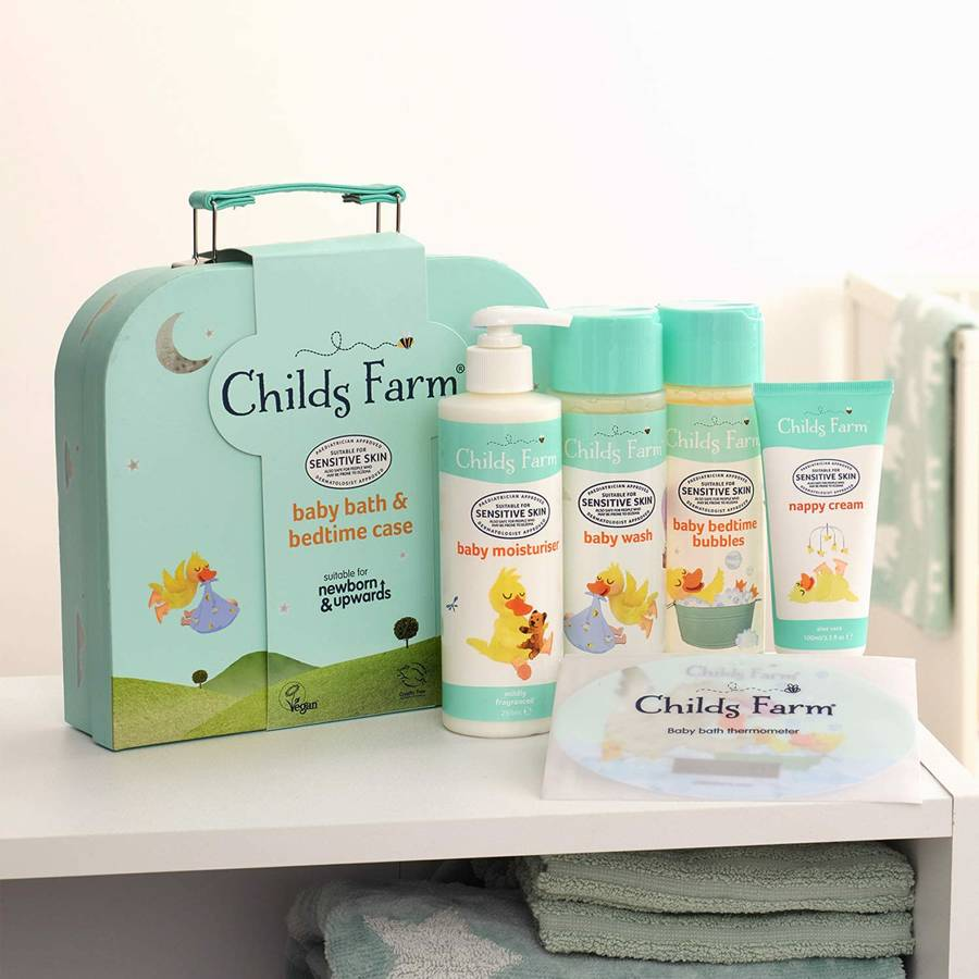 Childs Farm Baby Gifting Suitcase