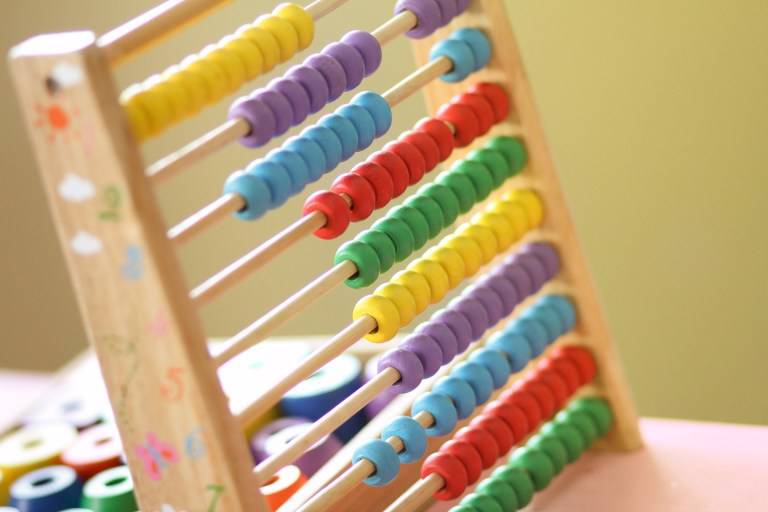 Abacus at school