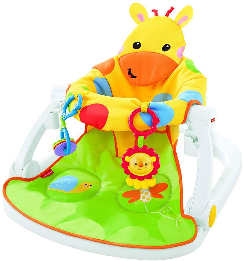 Fisher-Price Giraffe Sit-Me-Up Floor Seat