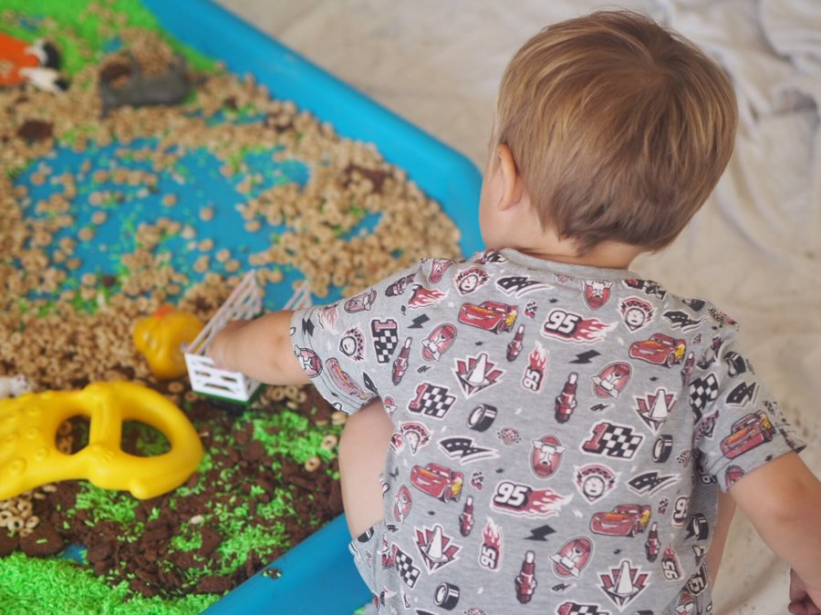 Messy Play Survival Tips