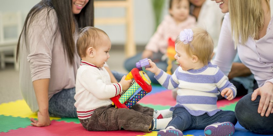 baby development playing toddler nursery